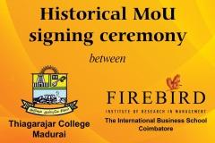 MoU-FIRM-Thiagarajar-College